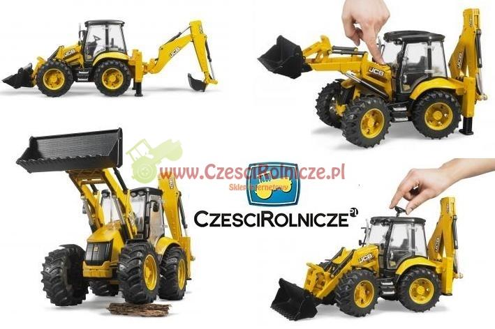 Super Koparko-ładowarka JCB 5CX 02454 BRUDER Części Rolnicze Sklep XX84