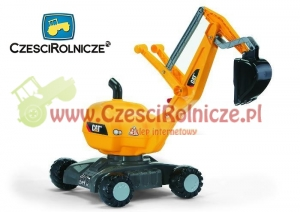 Rolly Toys Koparka na kołach CAT  42101  421015