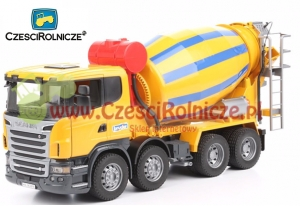 BRUDER 03554 SCANIA BETONIARKA [ZD03554]