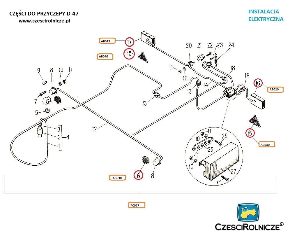 W Ultra Instalacja elektryczna - Części Rolnicze Sklep Internetowy - www.e FQ25